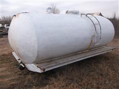 Palmer Elliptical Fiberglass Tank