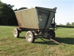 Dump Chief Side Dump Wagon