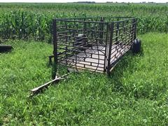 Homemade Small Livestock Hydraulic Cart