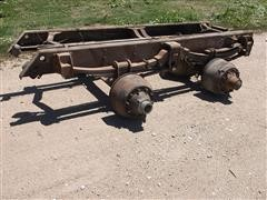 GM Cut Off T/A Frame Rail Single Axle Drive