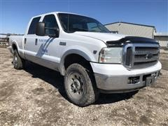 2005 Ford F250 Lariat Super Duty 4x4 Crew Cab Pickup