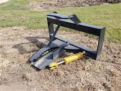 Tree Sheer/Puller Skid Steer Attachment