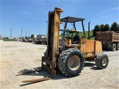 1994 Case 586E 4WD Rough Terrain Forklift