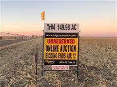 149.98+/- Acres Sherman County, KS