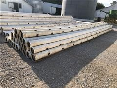 "Kroy 8"" PVC Gated Irrigation Pipe"
