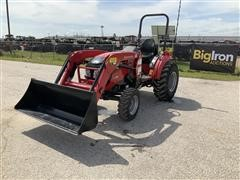 2016 Mahindra 1538 HST 4WD Compact Utility Tractor W/Loader