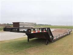 1999 Wilson 5060TD Muv-All T/A Special Implement Trailer W/Hydraulic Dovetail