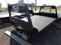 2014 Unused Lamar 8' Regular Unskirted Pickup Flatbed