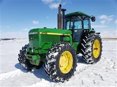 1989 John Deere 4755 MFWD Tractor