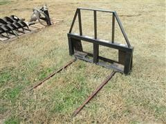 Balemaster Skid Steer Quick Tach Bale Mover