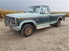 1982 Ford F150XL 4x4 Pickup