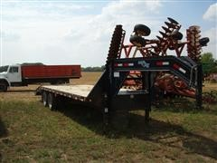 2009 Load Max Flatbed Trailer