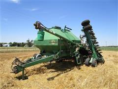 """Great Plains ADC2220 Cart & CTA 4000 Seeder 40' 10""""X48 Air Drill W/2-110 Bu Hoppers"""