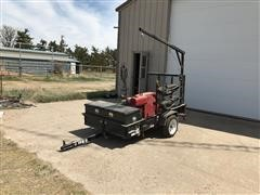 2014 Carry On Utility Trailer W/Lincoln Portable Welder & Hoist