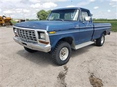1979 Ford F150 Custom 4x4 Pickup