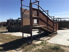 Werk Weld Steel Loading Chute