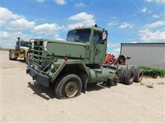 1979 AM General M917 Tri/A Military Cab & Chassis
