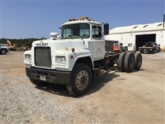 1980 Mack R686ST T/A Cab & Chassis