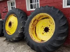 18.4 X 38 Tractor Duals On Rims