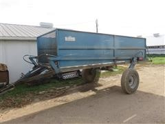 1995 Brehmer Hydraulic Lift Farm Trailer