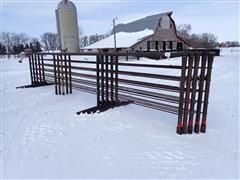 J BAR H Welding 24' Freestanding Livestock Panels