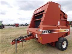 1998 Hesston 565A Round Baler