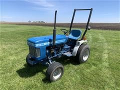 Ford 1210 Compact Utility MFWD Tractor