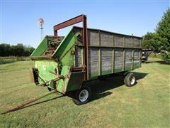 John Deere Feed/Chuck Wagon On John Deere Running Gear