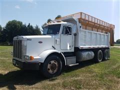1992 Peterbilt 378 T/A Dump/Grain/Silage Truck