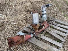 Nelson End Gun W/Booster Pump