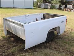 2007 Chevrolet Silverado 4x4 Long Pickup Bed