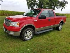 2004 Ford F150 Lariat 4x4 Extended Cab Pickup