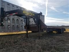 2004 Big Tex 22GN Flatbed Trailer