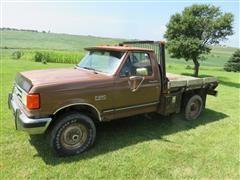 1991 Ford F250 XLT Lariat Pickup
