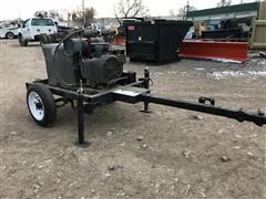 Miller Welder/Generator Mounted On Trailer