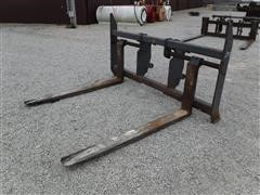 JRB 624H Heavy Duty Pallet Fork Attachment