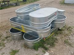 Behlen Mfg Galvanized Stock Tanks & Hog Feeder