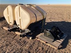 John Deere Tractor Side Mount Tanks & Brackets