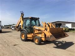 2002 Case 580 Series 2 4x4 Loader Backhoe