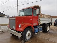 1989 White Conventional WCS Dump Truck