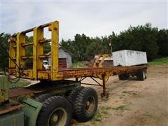 1964 Trailmobile p-21-t0c-h T/A Flatbed Trailer