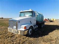 1995 White/GMC Aero WCA T/A Water Truck
