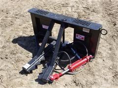 Industrias America Easy Man Skid Steer Mount & Tree/ Post Puller