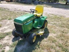 1987 John Deere 318 Lawn Tractor W/Mower Deck
