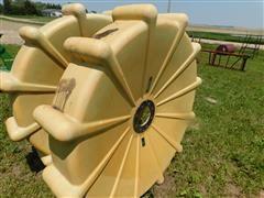 Mach II Poly Pivot Wheels