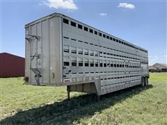 1979 Barrett T/A Livestock Trailer