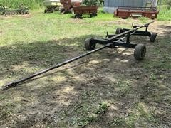 Homemade 22.5' Header Trailer