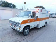 1976 Ford 138 Econoline Cutaway F350 Ambulance