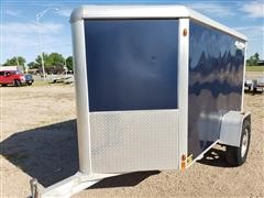 2012 Aluma AE58 Enclosed Trailer