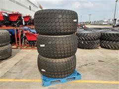 Titan LSW570-648 NHS Soft Turf Tires On Solid Steel Rims